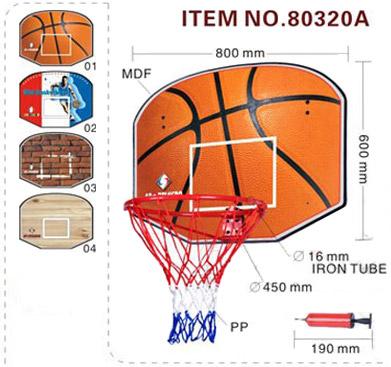 Баскетболно табло с кош