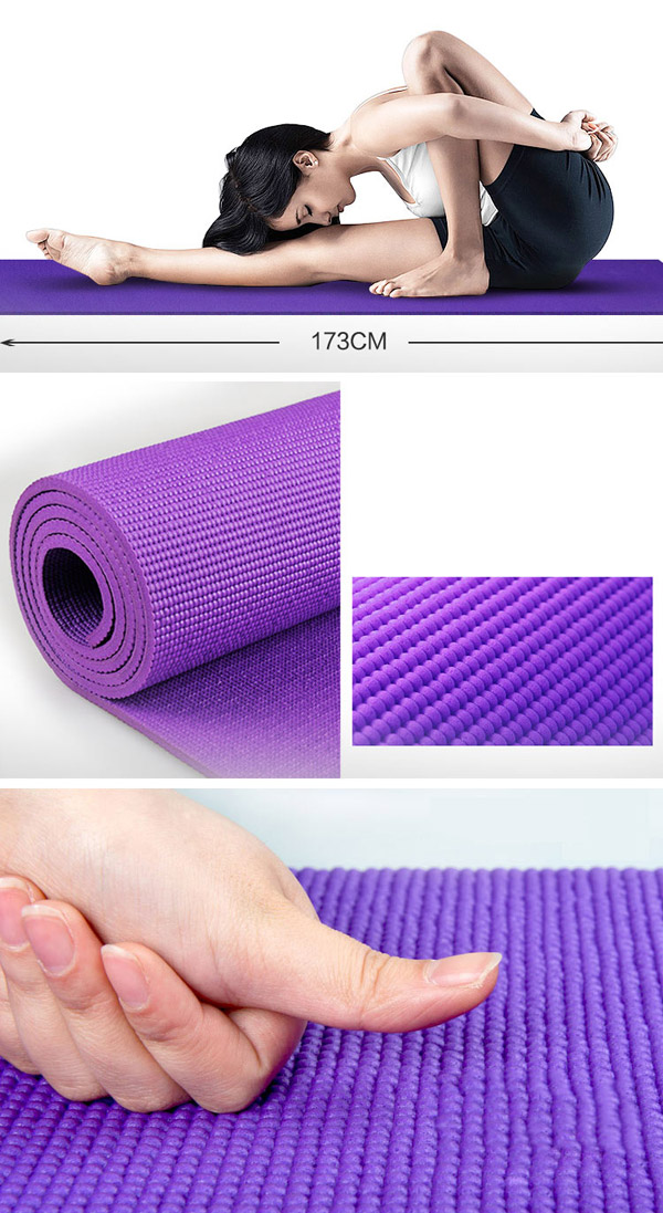 Постелка за йога pvc